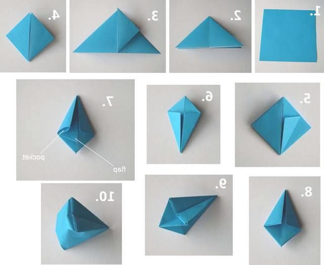 Simple Origami For Kindergarten